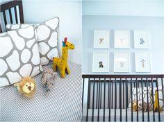 Dillon's Modern Safari-Themed Nursery featured on Style Me Pretty Living | Philadelphia, Pennsylvania Lifestyle Photographer