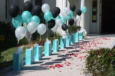 birthday #party #decorations, #tiffany blue birthday ideas
