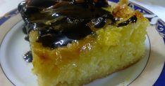 Να φτιάξω κι εγώ την πορτοκαλόπιτά μου, δεν συμφωνείτε; γιατί την βλέπω συχνά πυκνά σε άλλες σελίδες και ζηλεύω!!  Την έφτιαξα λοιπόν κι ε... Greek Desserts, Greek Recipes, French Toast, Deserts, Sweet Home, Pudding, Pie, Sweets, Cooking