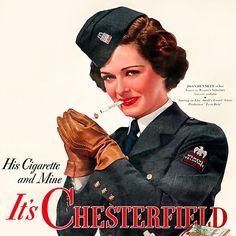 Chesterfield Cigarettes (1942).