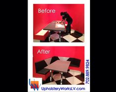 Retro Booth By Upholstery Works. Las Vegas, NV Http://www.