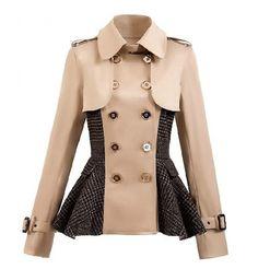 Damen Blazer 2016 in Trench Coat Style