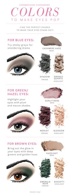 Eye Makeup: Beautiful Eye Makeup Color From the Mary Kay Collection Mary Kay Eyeshadow, Eyeshadow For Blue Eyes, Mary Kay Makeup, Eyeshadow Looks, Eyeshadow Guide, Simple Eyeshadow, Mary Kay Party, Mary Kay Cosmetics, Younique