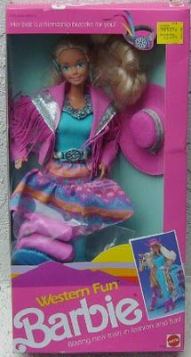 Western Fun Barbie! Had Ken too.