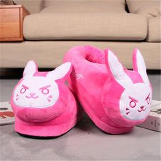 Overwatch Cute Plushie Slippers – Gamers Cavalry