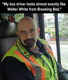 Breaking bads Walter white bus driver - http://jokideo.com/breaking-bads-walter-white-bus-driver/
