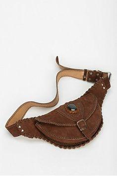 Stela 9 Festival Leather Belt Bag