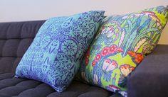 Mais cor no sofá gente!