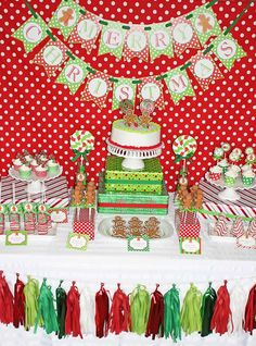 Gingerbread Man Party | CatchMyParty.com