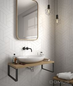Range: Chevron Wall | Domus Tiles, The UK's Leading Tile, Mosaic & Stone Products Supplier