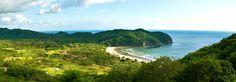 Panoramic views of Mukul Golf Resort in Nicaragua