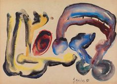 Γαϊτης Γιάννης – Giannis Gaitis [1923-1984]   paletaart - Χρώμα & Φώς Disney Characters, Fictional Characters, Dogs, Painting, Art, Art Background, Painting Art, Kunst, Paintings
