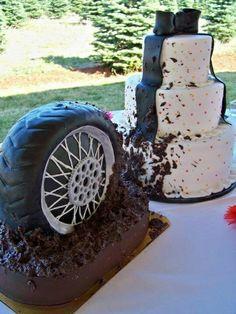 best grooms cake I think I've ever seen