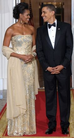 She is so lucky. He is so lucky. Our country is so lucky. The world respects our country because  of President Barack Obama.
