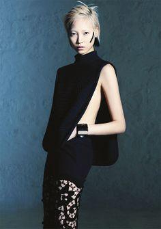 Soo Joo for Glass Magazine Spring 2014 by Bojana Tatarska.