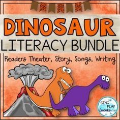 Dinosaur Songs and Poems -Readers Theater, Action Story, and Literacy Activities Music Education Games, Teaching Music, Music Games, Teaching Resources, Teaching Materials, Teaching Ideas, Preschool Music Activities, Writing Activities, Movement Activities