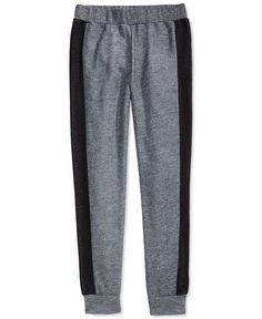 bdc4ee8c3588 DKNY Little Girls' Mesh-Trim Jogger Pants & Reviews - Leggings & Pants -  Kids - Macy's