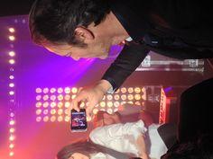 Même Jean-Michel Maire fait sa groupie! #Backstage
