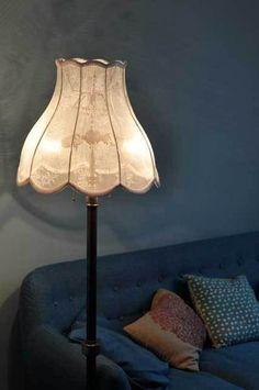 Lampenkappen - Lampenkap kant tulpmodel - staande lamp - Een uniek product van FunkyFriday op DaWanda