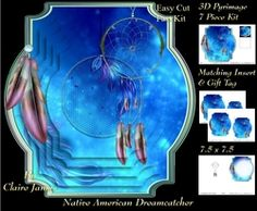 Traditional Native American Dreamcatcher 13   Pyrimage Pyramid   Matching Insert   Tag on Craftsuprint - View Now!