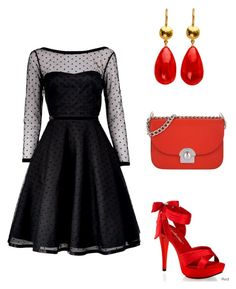 """Untitled #157"" by lalle-mila ❤ liked on Polyvore featuring Marc by Marc Jacobs, Pleaser and Prada"