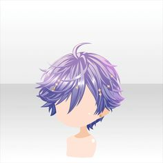 This Pin was discovered by Clarity. Discover (and save) your own Pins on Pinterest. Anime hair short purple