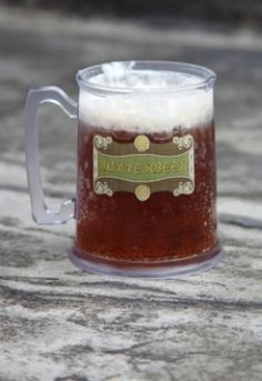 Like many, I first learned of Butterbeer in the Harry Potter books. I experienced it for 'real' at the WWOHP & set out in search of the best recipe...