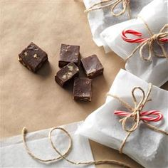 Double Chocolate Walnut Fudge Recipe from Taste of Home