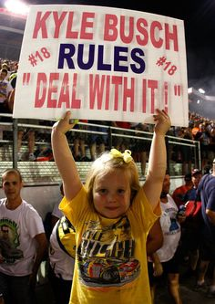 Kyle Busch..this is worth a repost.  Go Rowdy!!!!!!!!!!!!!!!!!!!!!