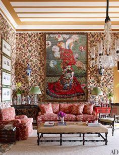 A São Paulo British Colonial Home Designed by Sig Bergamin Decor, Cheap Home Decor, House Design, Traditional Interior Design, Beautiful Homes, Home Decor, House Interior, Apartment Decor, Architectural Digest