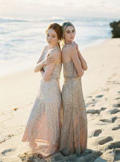 Bridesmaid ideas:Sequin bridesmaid dresses, Babushka Ballerina (Sydney)