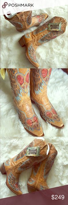 535a98f31ef Beautiful Brand New Leather Boots These boots are absolutely beautiful.  Brand new with tags.