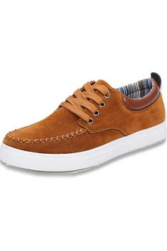 JustCreat Men's Breathable Low-cut Sneakers Casual Shoes (Brown) | Price: ฿535.00 | Brand: JustCreat | From: Top Seller Shoes - รวมรองเท้าแฟชั่น รองเท้าผู้ชาย รองเท้าผู้หญิง ราคาพิเศษ | See info: http://www.topsellershoes.com/product/11464/justcreat-mens-breathable-low-cut-sneakers-casual-shoes-brown