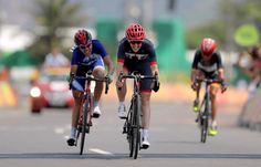 Crystal Lane: Bronze in the C4-5 road cycling race