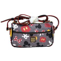 Disney Dooney & Bourke Bag - Body Parts - Crossbody - Lola