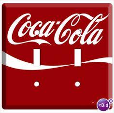 Coca Cola light switch cover (: