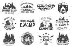 Summer camp - Illustrations