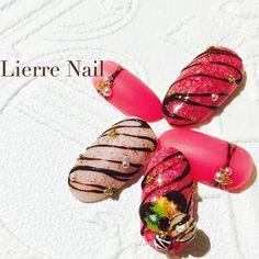 最後の一つ載せるの忘れてた❤︎あまずっぱい。 2017ver①フランボワーズマカロン×フルーツチョコ ❤︎ ・ ・ ・ ・ ・ ❤︎ # #nail #nailart #acegel #rapigel #nailswag #beautiful #art #gelnails #colorful #mdaeffect #kawaii #girl #fruit #vernis #chocolate #valentine #아트 #젤 #美甲 #指甲胶 #ネイル #ネイルアート #ジェルネイル #ネイルデザイン #バレンタイン #バレンタインネイル #チョコレートネイル #マカロン
