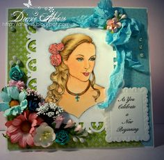 Diane's Country Cards & Crafts: Fitztown Blog Hop, Fitztown Challenge Blog Celebration Blog Hop using Cameo 17 from Fitztown.com