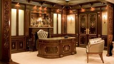 Office by Picó Muebles Wood Bedroom Furniture, Living Furniture, Luxury Furniture, Wooden Furniture, Office Furniture, Office Interior Design, Office Interiors, Interior Design Living Room, Best Office