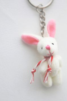 lucky lucky charm bunny... the whole bunny not just the foot!