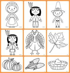 Thanksgiving Coloring Pages Free Thanksgiving Coloring Pages, Fall Coloring Pages, Thanksgiving Preschool, Thanksgiving Traditions, Thanksgiving Feast, Thanksgiving Recipes, Thanksgiving Decorations, Fun Arts And Crafts, Kid Crafts
