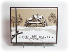 ~~Heart's Delight Cards~~: Christmas Lodge