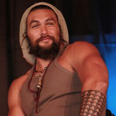 Jason Momoa...... Sexy even with a beanie.