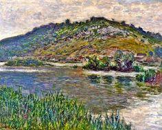 """CLAUDE #MONET """" Landscape at Port-Villez """" (1883) #art #artwit #twitart #iloveart #artweet #ilovemonet #landscape"""