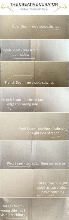 Sewing beginners - learn how to sew seams the right way for your handmade clothes. When sewing your own clothes, it is important to sew seams correctly. Learn about sewing seams here! #sewing #sewingprojects #sewingbeginners #makeyourownclothes