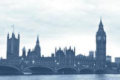 BigBang London Laser Print Denim Poster by DenimArts on Etsy, $16.50