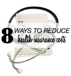 8 ways to reduce your health insurance costs. Saving tips for heath insurance Health Insurance Options, Best Health Insurance, Dental Insurance, Life Insurance, Insurance Website, Insurance Business, Money Saving Tips, Personal Finance, Health Care