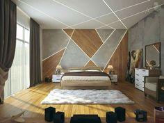 Gorgeous Apartment Ceiling Design Ideas That Inspiring 13 Bedroom False Ceiling Design, Luxury Bedroom Design, Bedroom Ceiling, Master Bedroom Design, Home Decor Bedroom, Bedroom Wall, Bedroom Designs, Modern Ceiling Design, Fall Ceiling Designs Bedroom