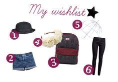 My own wishlist <3
